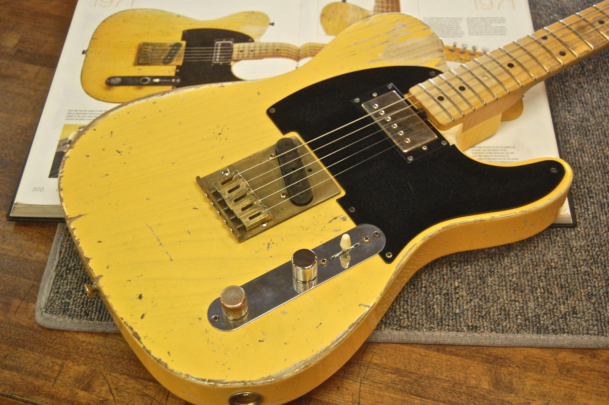 Keith Richards telecaster copy