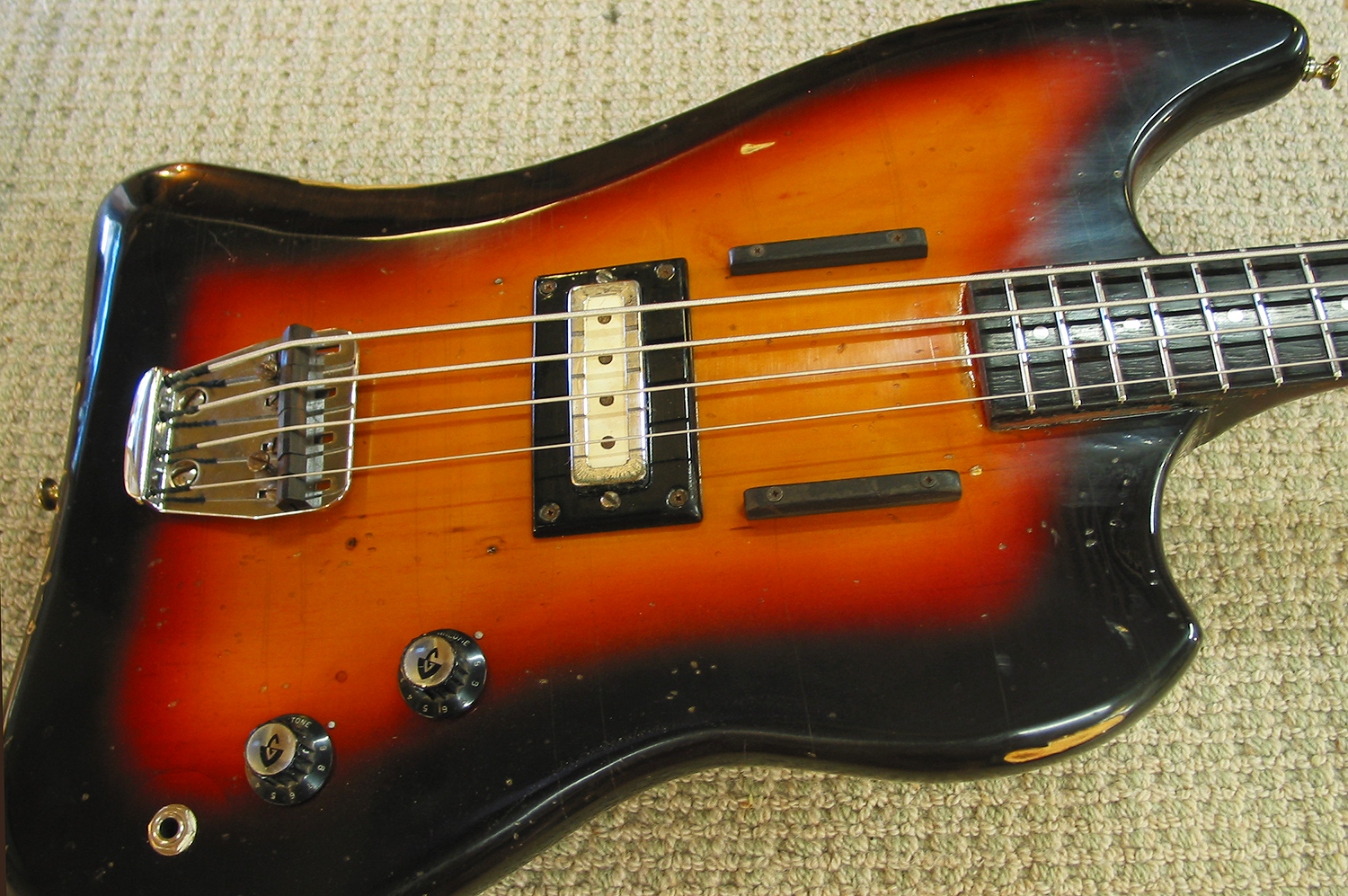 Guild Jetstar Bass Restoration and Refin