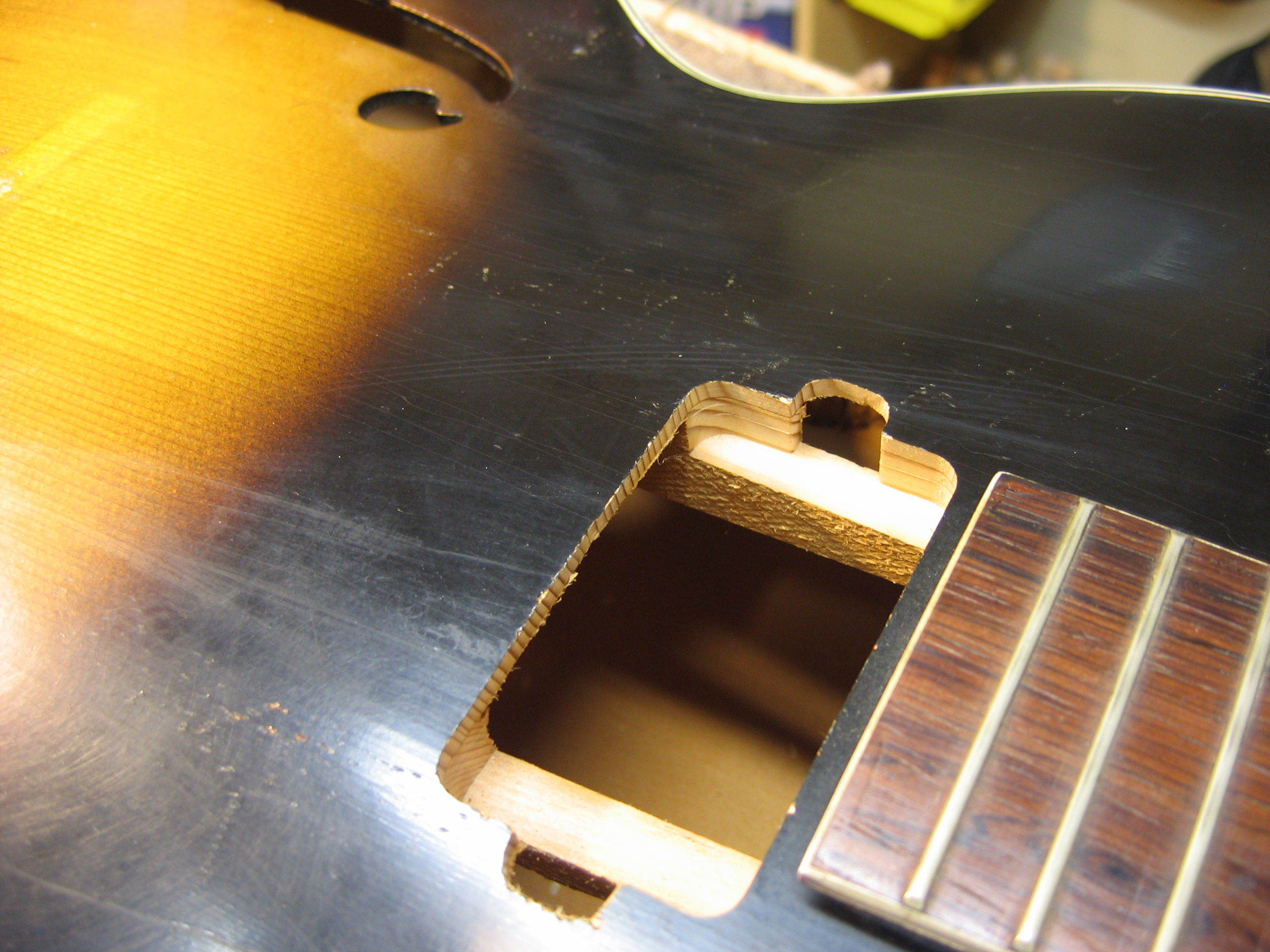 Vintage Harmony Archtop – Custom Pickup Mod | Chicago Fret Works ...