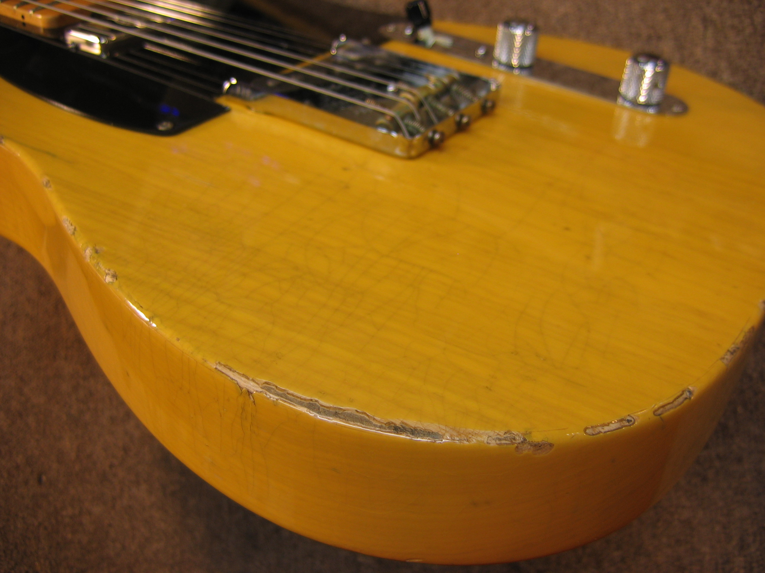 Blanco Aliviar Memorizar  52 Hot Rod Telecaster Relic   Chicago Fret Works - Guitar Repair