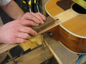 Fretboard replacement / inlay