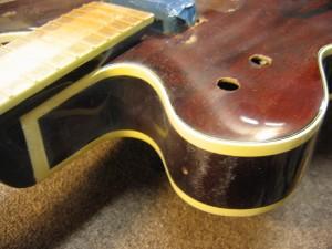 Vintage Gretsch Country Gentleman - Binding Repair