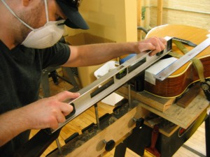 Mossman Acoustic Guitar Repair - Neck Reset and Refret