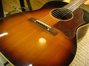 Vintage Gibson LG1 Top Crack Repair