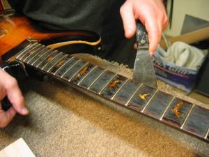 Paul Reed Smith Headstock Repair / Rebuild