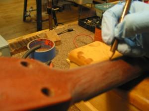 Martin Headstock Repair