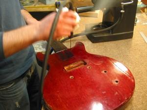 Vintage Gibson Les Paul Jr. Restoration