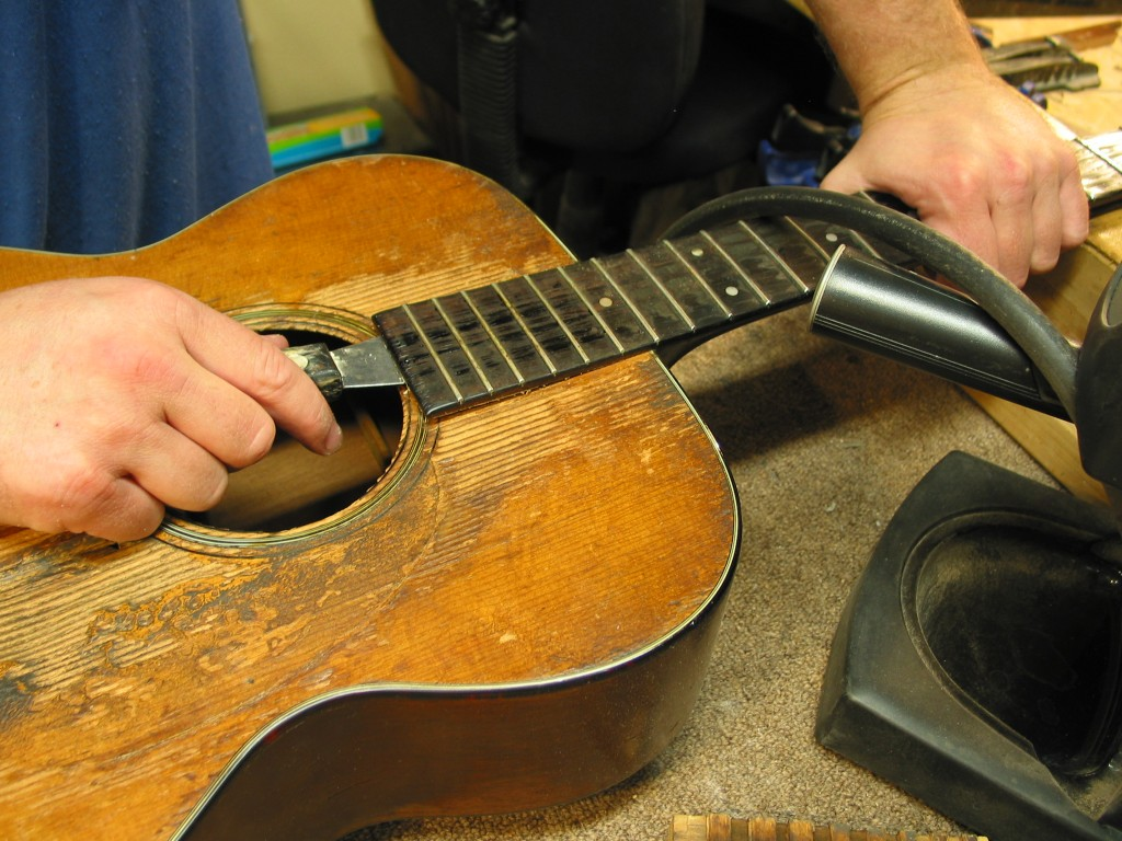 Martin Neck Reset & Restoration