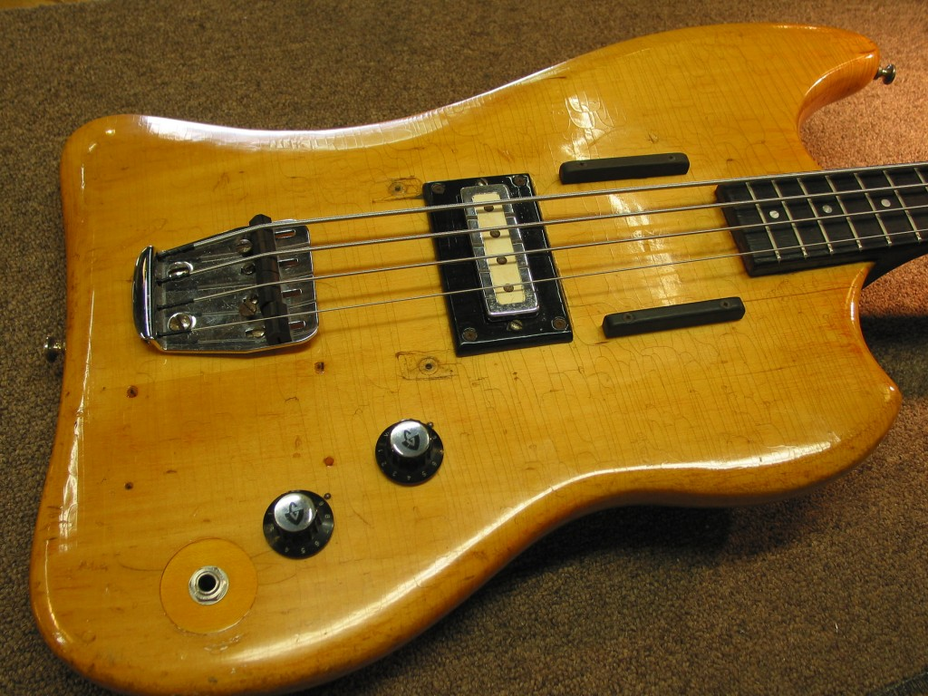Guild Jetstar Bass Refin Restoration