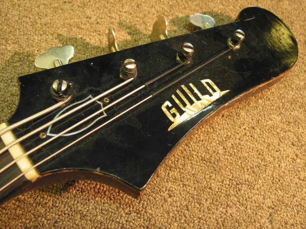 Guild Jetstar Bass Refin Restoration
