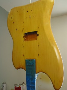 Vintage Guild Jetstar Bass - Refin and Restoration