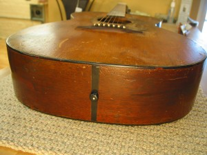 Vintage Martin Neck Reset and Refret