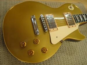 Gibson Les Paul Deluxe Goldtop Refin