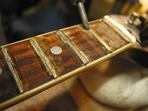 vintage gibson mandolin refret chicago fret works guitar repair. Black Bedroom Furniture Sets. Home Design Ideas