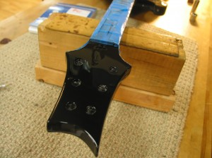 Paul Reed Smith Headstock Rebuild