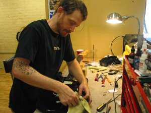 Guitar Tech Joe Swierupski