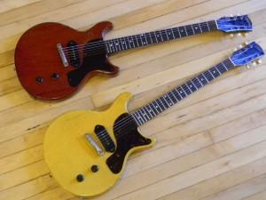 Vintage 1959 and 1960 Les Paul Jr.