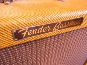 Vintage 1956 Fender Bassman Repair