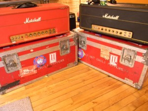 Red Hot Chili Peppers' Marshall Major Amps