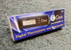 Oasis Digital Hygrometer