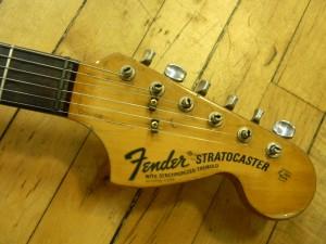 Vintage Fender Stratocaster Restoration