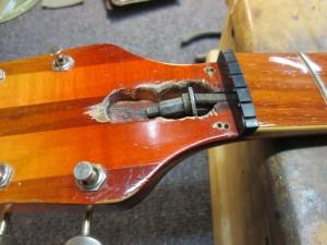 Vintage Rickenbacker Truss Rod Repair