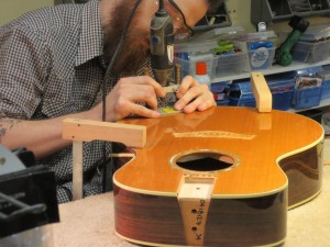 Taylor Acoustic Top Restoration