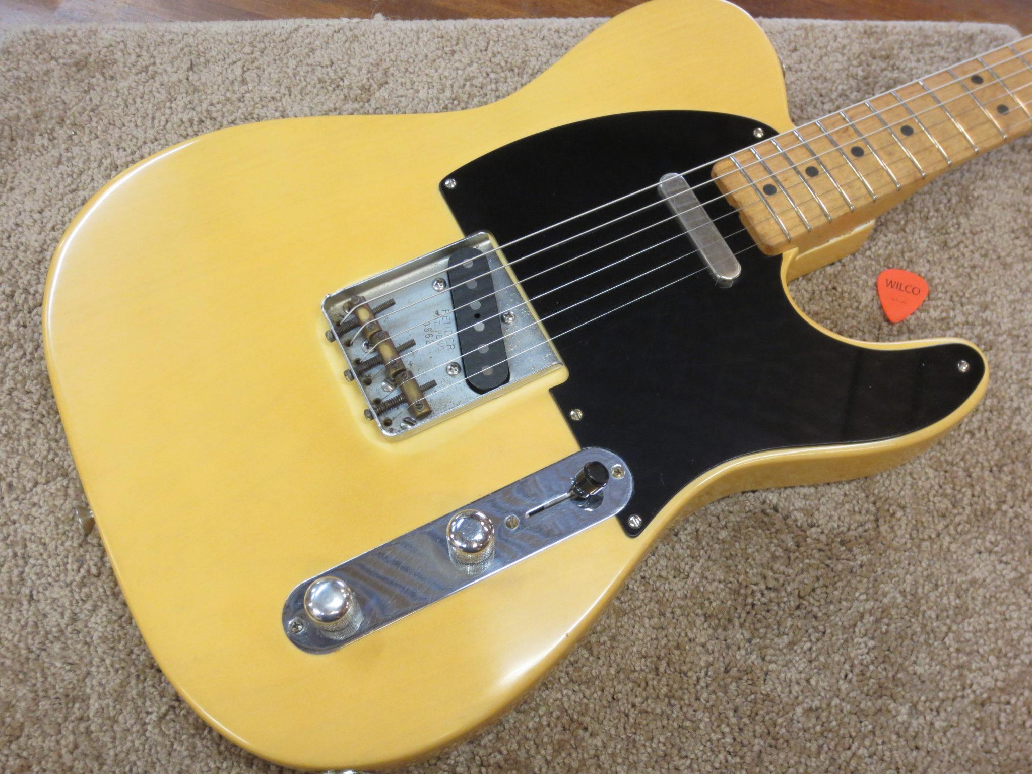 """1951 Fender """"Nocaster"""" Telecaster – Restoration"""