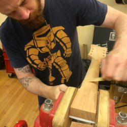 Making A Neck For National Guitar