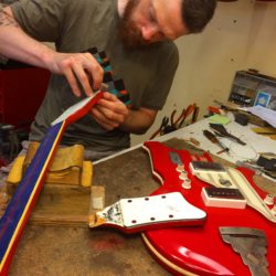Shaping National Resoglas Airline Guitar Neck